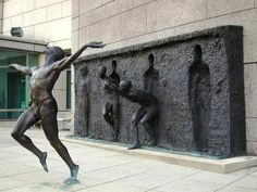 'Freedom'  Unusual sculpture by Frudakis Zenoss      Fantasy Art: https://www.facebook.com/fntsyArt