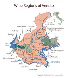 Veneto #wine #wineeducation