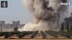 Kurdish CTG Calls In Airstrikes On ISIS