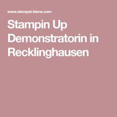 Stampin Up Demonstratorin in Recklinghausen