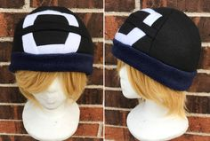 9fb2c4a7eb256 Pokemon Sun and Moon Male or Boy Version Trainer Hat - Fleece Hat Adult