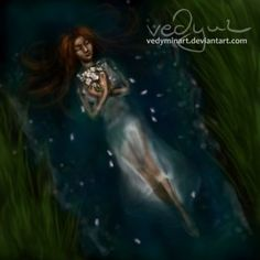 Ophelia by vedyminart