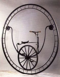 Monocycle, 1869 by Rousseau of Marseilles -- with an amazing article at source.