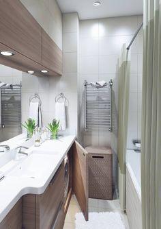 Современный дизайн двухкомнатной квартиры 52 метра для семьи с двумя детьми-1