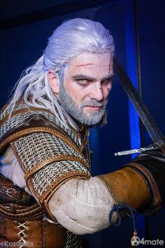Zephon Cos Cosplay Geralt The Witcher 3 Wild Hunt Wiedźmin 3 Dziki Gon