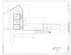 Second Floor Plan   Fallingwater, Guest House, State Route 381 (Stewart  Township)