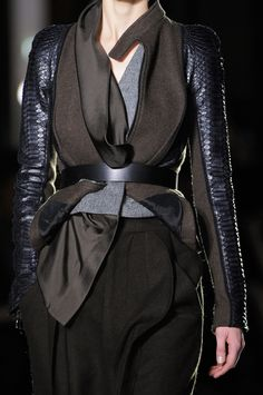 Haider Ackermann at Paris Fashion Week Fall 2014 - StyleBistro