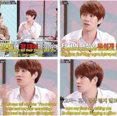 Heechul said it all. The accuracy though he just became a hero on my list