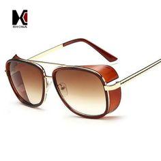 b0d1ca811644 Cheaper Iron Man 3 Matsuda Sunglasses Men Square Sun Glasses Brand Designer  Women Punk Sunglass Oculos Masculino Gafas from AllFemale.