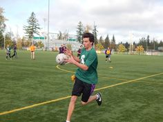 Students at Skyline High School in Sammamish play Gaelic football, which looks a lot like soccer -- until you catch the ball with your hands.