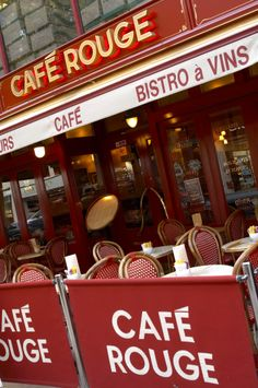 Cafe Rouge Signage by Astley Signs