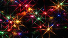 Collection of beautiful Christmas lights wallpapers. Let your favorite desktop get lighted up with beautiful wallpapers of Christmas lights.