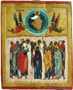 Ascension (Russian icons XII-XIX century)