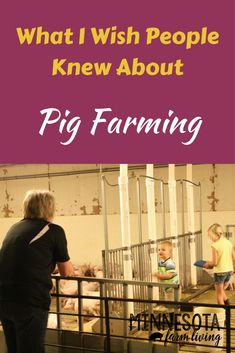 As a farmer, there are many things I just people knew about what it's like to be a pig farmer. Here is a list of a few of them. American Agriculture, Animal Agriculture, Pig Farming, Backyard Farming, The Parking Spot Hobby, Hobbies For Men, Animal Science, All About Animals, Farms Living