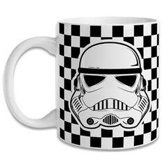 Caneca Star Wars Stormtrooper Xadrez
