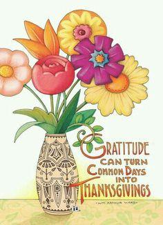 Gratitude /thanksgiving