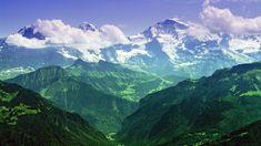 The Mighty Jungfrau: Bernese Alps Switzerland [3840x2160]