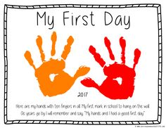 Hottest Free first day of preschool crafts Popular You've done each of the study and decided on out the excellent preschool for the child. A week ago, you've made gua Welcome To Preschool, Preschool First Day, Preschool Craft Activities, September Preschool, All About Me Preschool, First Day Of School Activities, First Day School, Kindergarten First Day, Free Preschool