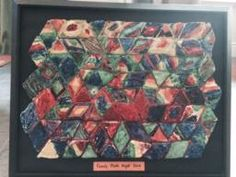Salt Dough Tessellations: The collaborative project we made at my last Family Math Night event.