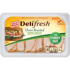 Oscar Mayer Deli Fresh Oven Roasted Turkey Breast, 16 oz 5.94