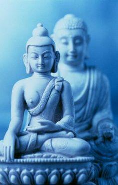 Blue Buddhas by Stockbyte