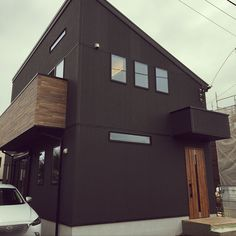 Japanese Modern House, Home Renovation, Exterior Design, Architecture Design, Shed, California, Outdoor Structures, Doors, House Styles