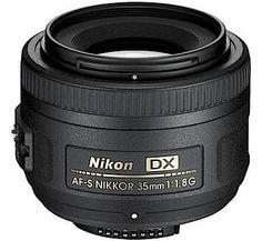 Nikon Lenses 35mm Nikon AF-S DX NIKKOR 35mm f/1.8G Lens  - Cameras Direct AUSTRALIA