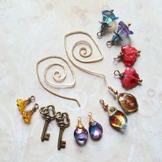 Earring Wardrobe, by sihaya09   #handmade #jewelry