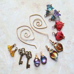 Earring Wardrobe, by sihaya09   #handmade #jewelry