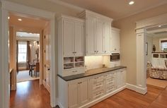 Bradley House - traditional - kitchen - dc metro - by Finecraft Contractors, Inc.