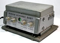 Binson 'Baby'. Guitar Effects Pedals, Guitar Pedals, Tape Echo, Guitar Rig, Studio Equipment, Music Images, Cool Gear, Pedalboard, Band Photos