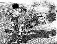 Manga: Hajime No Ippo by George Morikawa . Box Manga, Manga Anime, Anime Toon, Anime Art, Dope Cartoon Art, Dope Cartoons, Bd Comics, Anime Comics, Martial Arts Manga