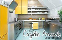 Querida G.A.: Decoração: cozinha amarela