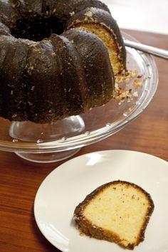 La Cucinetta: Um bolo de limão com cream cheese para uma natureba mas nem tanto