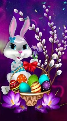 Wallpaper by - 33 - Free on ZEDGE™ now. Browse millions of popular easter Wallpapers and Ringtones on Zedge and personalize your phone to suit you. Browse our content now and free your phone Happy Easter Wallpaper, Holiday Wallpaper, Halloween Wallpaper, Easter Art, Easter Crafts, Easter Bunny Pictures, Easter Backgrounds, Halloween Backgrounds, Happy Easter Bunny