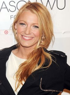 Ponytail Look book  Blake Lively Ponytail