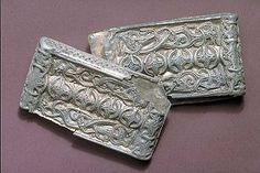Föremålsbild - silver Viking Buckle - Östergötland