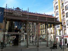 Mercado de San Miguel, near Plaza Mayor in Madrid, Spain (Madrid España)