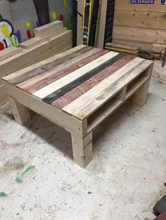 Pallet Coffee Table From Reclaimed Wood | 99 Pallets