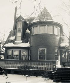 Walter Gale House. Oak Park, Illinois. 1893. Early Frank Lloyd Wright