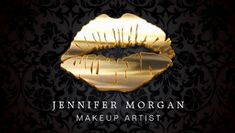 Eye Catching Black Damask Gold Lips Makeup Artist Business Cards www. - Care - Skin care , beauty ideas and skin care tips Makeup Artist Logo, Freelance Makeup Artist, Best Makeup Artist, Black Business Card, Business Card Logo, Business Card Design, Lip Logo, Makeup Tumblr, Bussiness Card