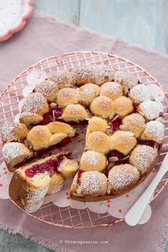 Crostata morbida di ciliegie Senza burro facilissima
