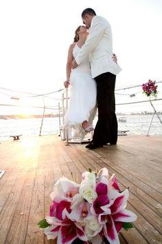 """Say """"I Do"""" on a Yacht! ~ Hornblower Cruises & Events, Newport Beach, CA"""