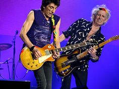 RON WOOD AND KEITH RICHARDS / MEXICO CITY / MARCH 17, 2016