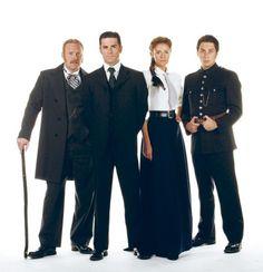 I love Dr. Ogden's skirts ----Murdoch-Mysteries