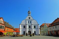 Wolgast, Germany by Mario Mitura - Town Hall dates to 18th century
