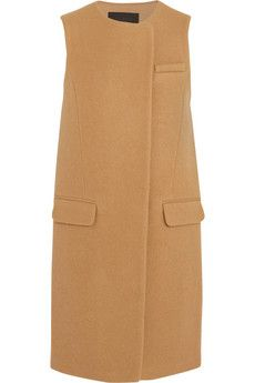 J.Crew Collection Cora boiled wool gilet | NET-A-PORTER