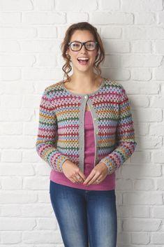 Simply Crochet granny cardigan Fran Morgan