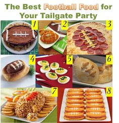 Football Food!!