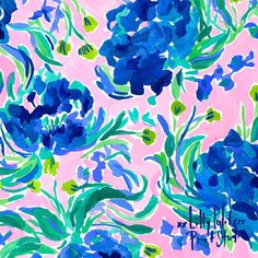 "Peonies are HERE. Our newest print, ""Sweet Pea,"" was created by our print artists after a day of putting together the perfect springtime… Lily Pulitzer Painting, Lilly Pulitzer Iphone Wallpaper, Lilly Pulitzer Patterns, Lilly Pulitzer Prints, Apple Watch Wallpaper, Sewing Art, Sewing Patterns, New Print, Print Artist"